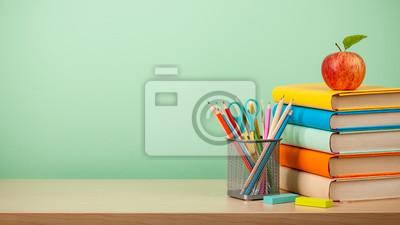Fototapete Back to school background