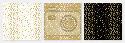 Fototapete Background pattern seamless geometric line abstract gold luxury color vector.