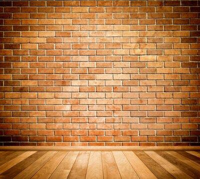 Fototapete Backsteinmauer Hintergrund.