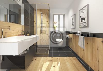 Bad minibad duschbad badezimmer fototapete • fototapeten Sanitär ...