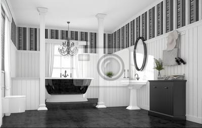 Badezimmer Freistehende Badewanne Luxurios Extravagant Edel