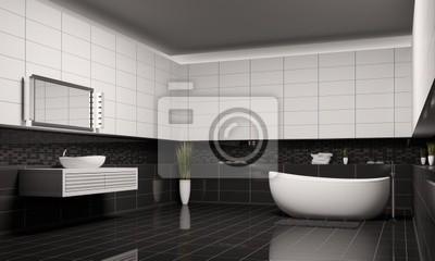 Fototapete Badezimmer Innenaufnahme 3d