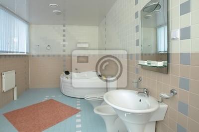 Badezimmer Mit Jacuzzi Fototapete Fototapeten Badewanne Luxe