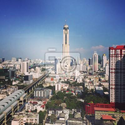 Baiyok tower in Bangkok Thailand