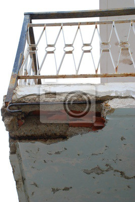 Balkon Sanierung Balkonsanierung Beton Sanieren Rost Verrostet