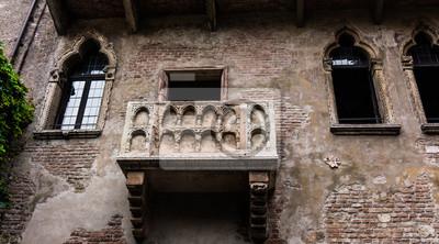 Balkon Von Romeo Und Julia In Verona Italien Romeo Und Julia