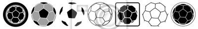 Fototapete Ball | Emblem | Logo | Variationen