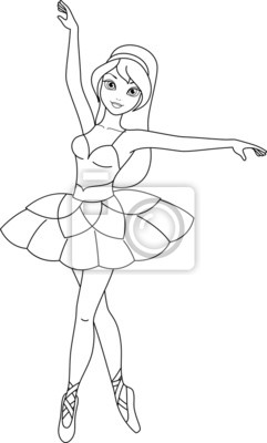 Ballerina Malvorlagen Fototapete Fototapeten Geschichte
