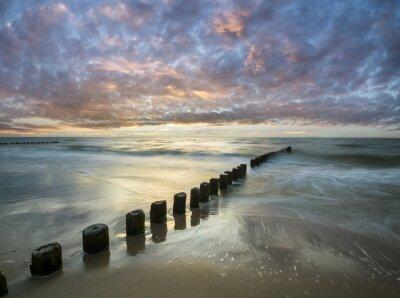 Fototapete Bałtycki zachód słońca