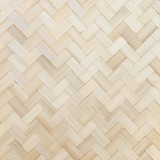 Bambus Tapete Hintergrund Wand Muster Weben Braun Thailand