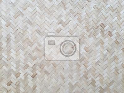 Fototapete Bambus Wand Hintergrund Textur Muster Holz Natur Braun Abstrakt  Bio Asiatischen Gelb Retro Baum