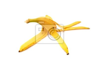 Fototapete Banana Peel