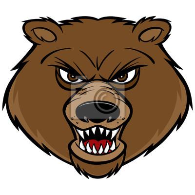 Bären-Maskottchen-