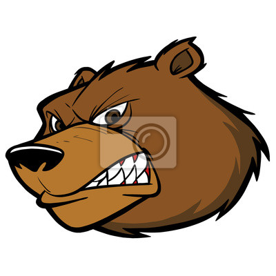 Bären-Team-Maskottchen