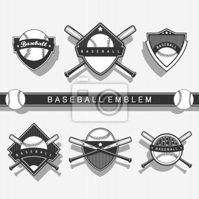 Baseball-Emblem