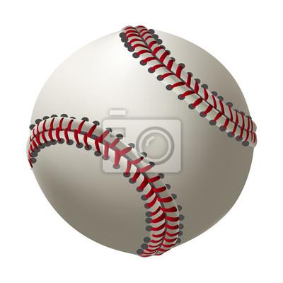 Baseball Erstellt durch Berufskünstler. Alle Elemente sind in separaten Ebenen gehalten und gruppiert.