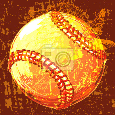 Baseball Erstellt von professionellen Artist.all Elemente sind in separaten Ebenen gehalten, und gruppiert.