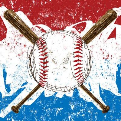 Baseball Flag Hintergrund