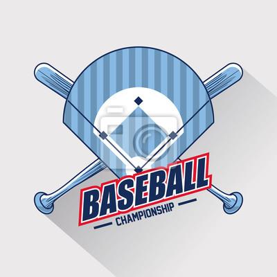 Baseball sport game