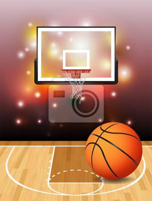 Basketball-Abbildung