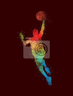 Basketball Art 2 Dark
