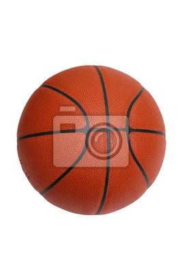 Basketball auf weiß mit Clipping-Pfad