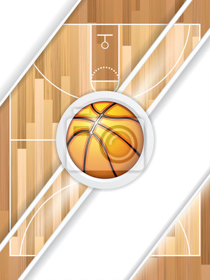 Basketball-Broschüre
