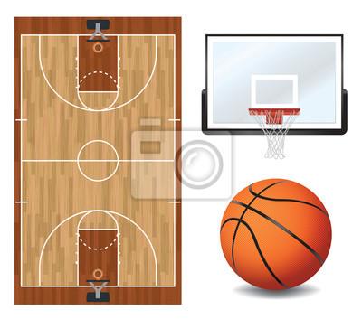 Basketball-Design-Elemente Abbildung