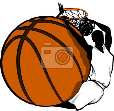 Basketball Dunk Design