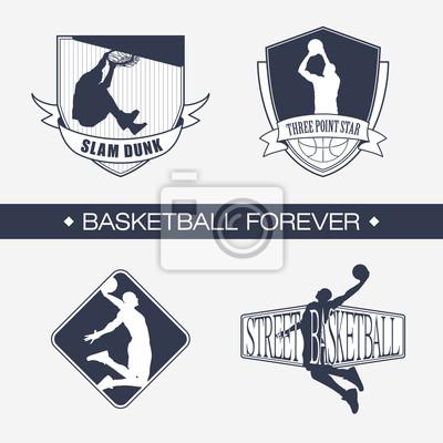 Basketball-Emblem
