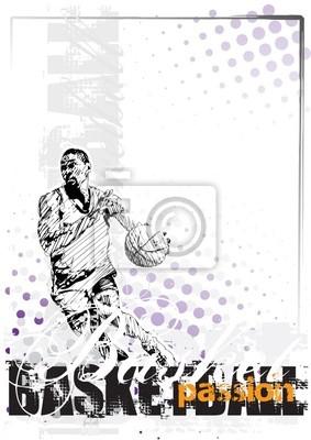 Basketball Hintergrund 3