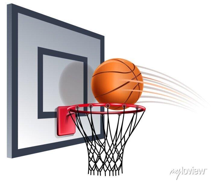 Fototapete basketball hoop