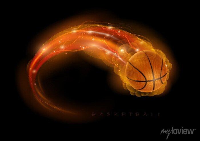 Fototapete Basketball Kometen