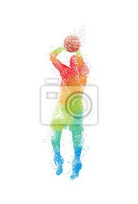 Basketball-Kunst 3