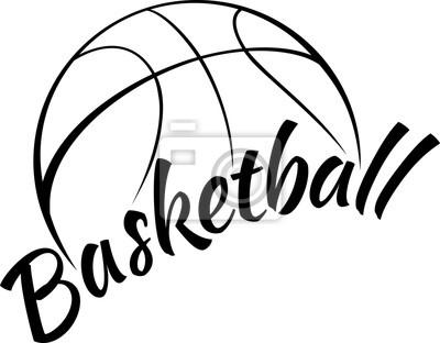 Basketball mit Spaßtext