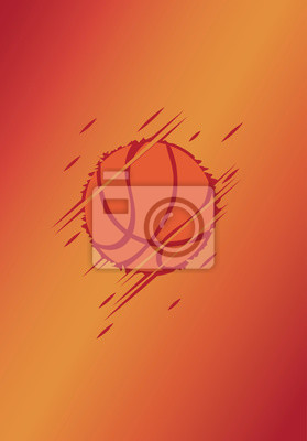 Basketball poster.Abstract background