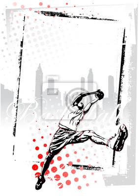 Basketball Poster Hintergrund