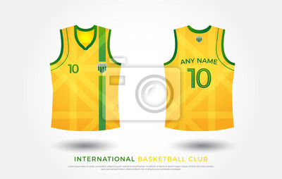 Basketball T Shirt Designuniform Satz Von Kit Basketball Jersey