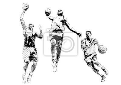 Basketball-Trio