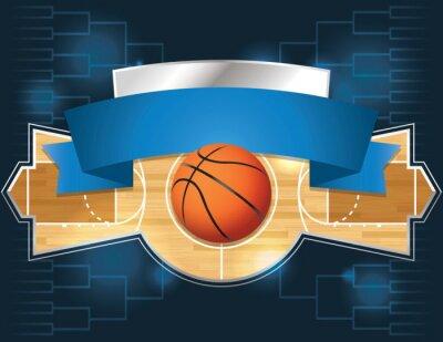 Fototapete Basketball-Turnier