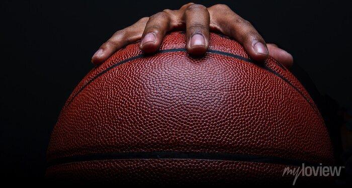 Fototapete Basketball und Handgreif