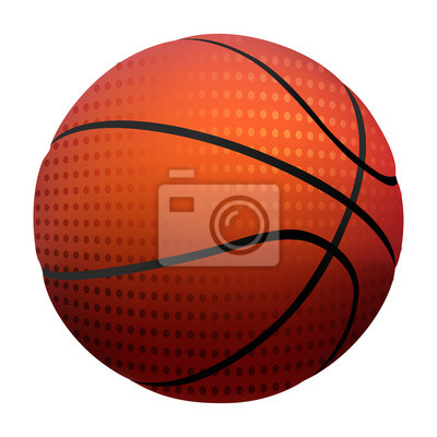 Basketball Created by professional Artist. All elements are kept in separate layers and grouped.