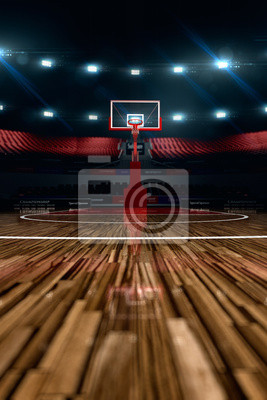 Basketballplatz.