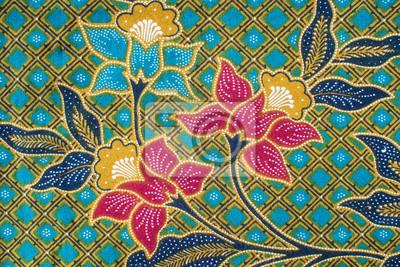 fototapete batik muster - Batiken Muster