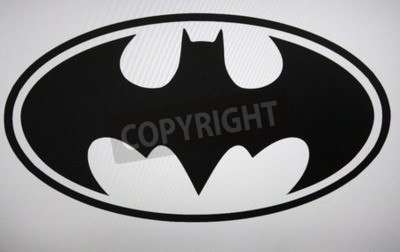 Fototapete Batman Logo Berlin