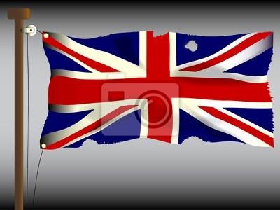 Battle Damaged Union Jack