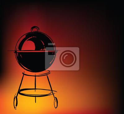 BBQ Vektor-Illustration