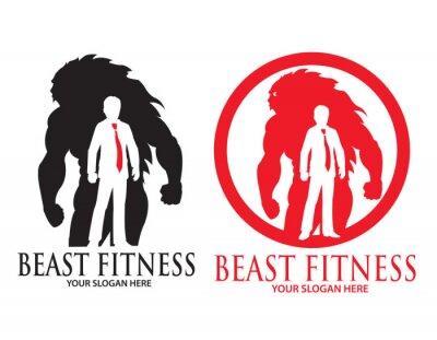 Fototapete Beast Fitness