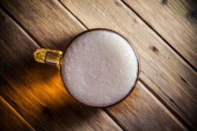 Fototapete Becher Bier