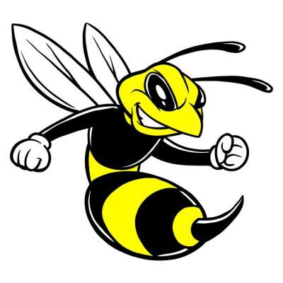 Bee Maskottchen